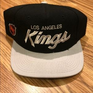 Vtg LA Kings Snap Back
